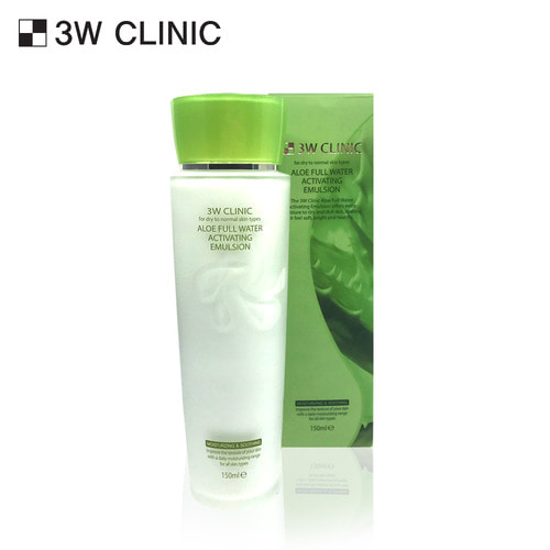 3W CLINIC ALOE FULL WATER ACTIVATING EMULSION 150ml
